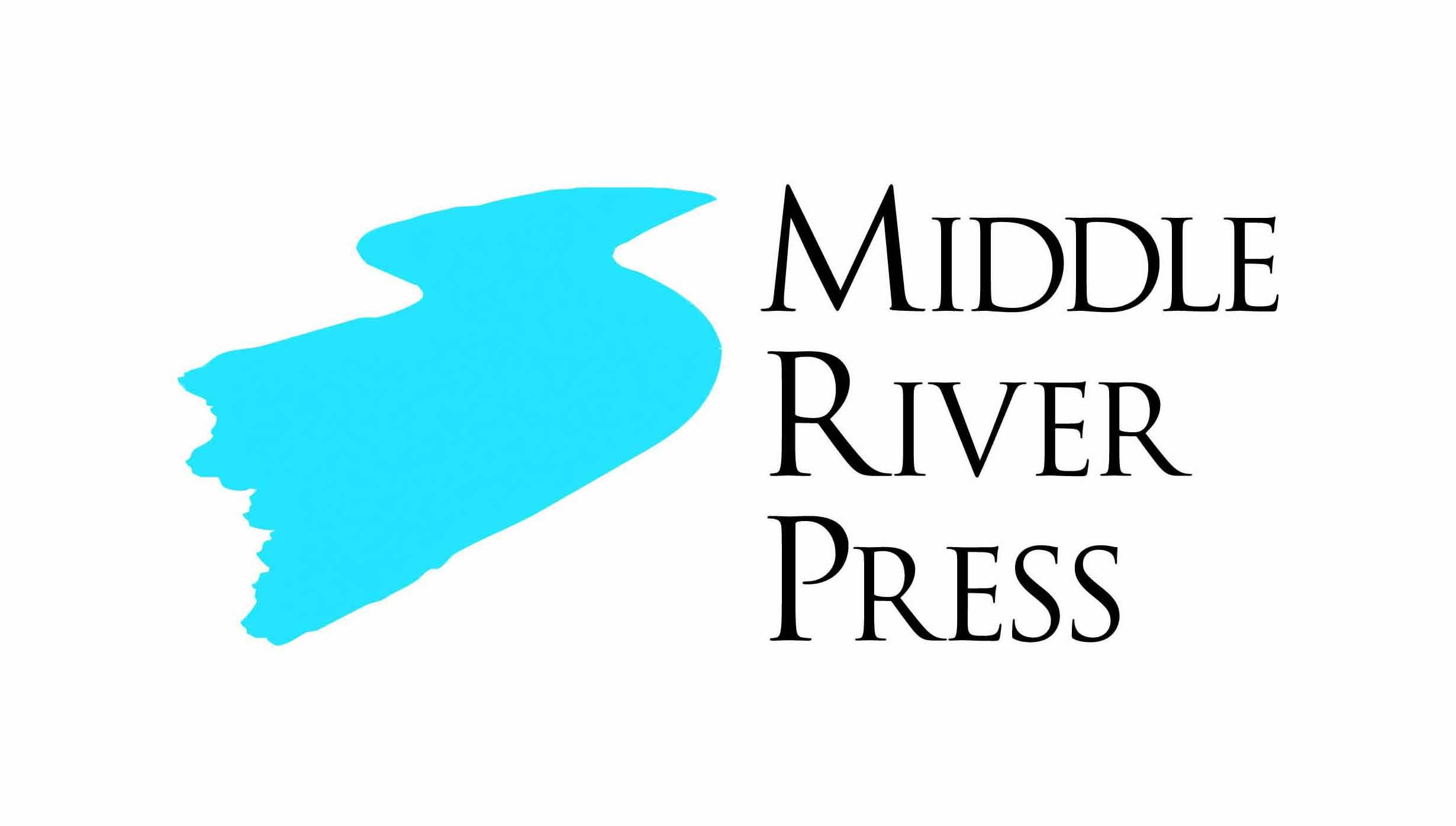 Logo for Middle River Press, a custom book publishing company